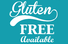 Gluten Free Available